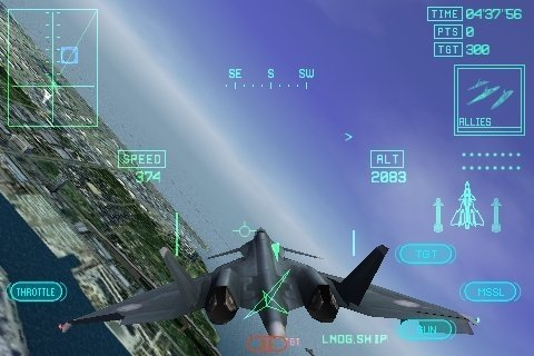 Hands on with Ace Combat Xi: Skies of Incursion on iPhone ...