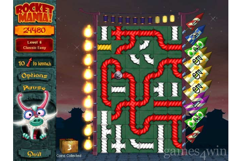 Rocket Mania Deluxe Download on Games4Win