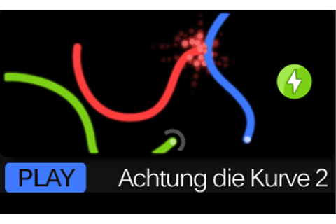Achtung Die Kurve Flash-Multiplayer Games From newgrounds ...
