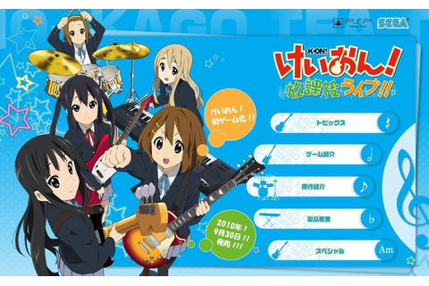 On! Houkago Live!! , a video game take on the somewhat well-known K ...