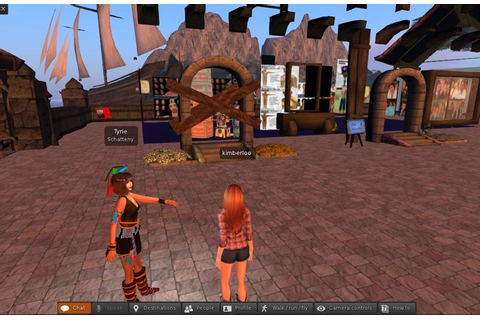 Second Life - Virtual World Games 3D