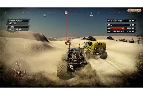 FUEL | PC Gameplay | Monster Truck Race [HD 720p] - YouTube