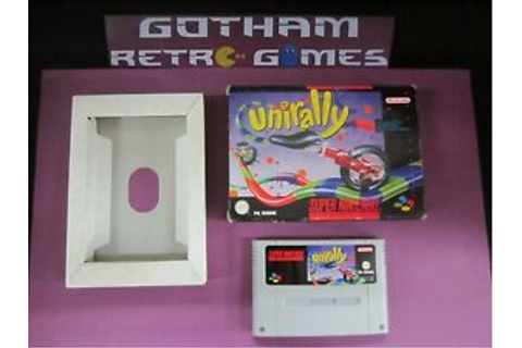 Unirally super nintendo game | eBay
