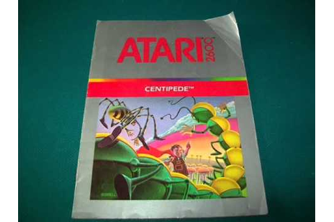 Atari 2600 Intellivision Manual Athearn Crane Tempest 3000 ...