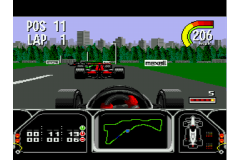 Play Newman Haas Indy Car Featuring Nigel Mansell Online ...