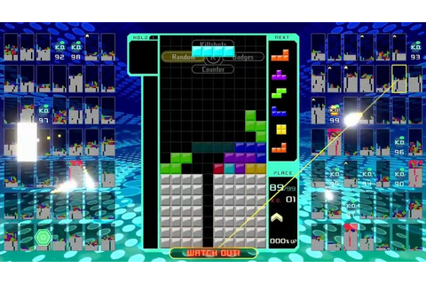 Tips and Tricks for Winning Tetris 99 on the Nintendo Switch