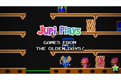 Games from the Olden Days: Mappy - YouTube