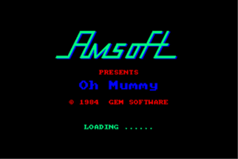 Download Oh Mummy (Amstrad CPC) - My Abandonware