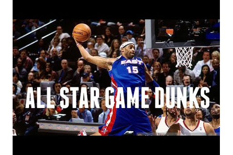 Vince Carter's Best All Star Game Dunks - YouTube