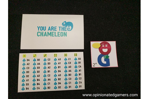 Dale Yu: Review of The Chameleon | The Opinionated Gamers