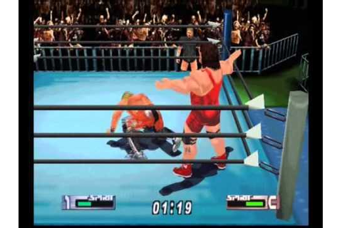 Virtual Pro Wrestling 2 N64 - YouTube
