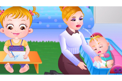 Baby Hazel Sibling Trouble - Baby Hazel Baby Care Games ...