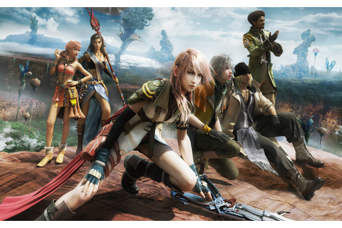 (RPG / PS3 / PC Game Review) Final Fantasy XIII เจ๊เครียด ...