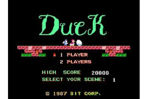 Duck Maze (NES) Music - Game Theme - YouTube