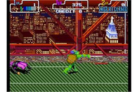 Teenage Mutant Hero Turtles - Turtles in Time - Arcade ...