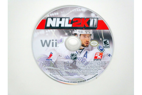 NHL 2K11 game for Wii (Loose) | The Game Guy