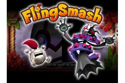 FlingSmash Soundtrack - W9 Thundercloud Fortress - YouTube