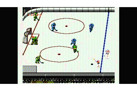 Classic Game Room - BLADES OF STEEL for NES review - YouTube