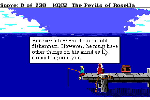 King's Quest IV: The Perils of Rosella (1988 - DOS ...