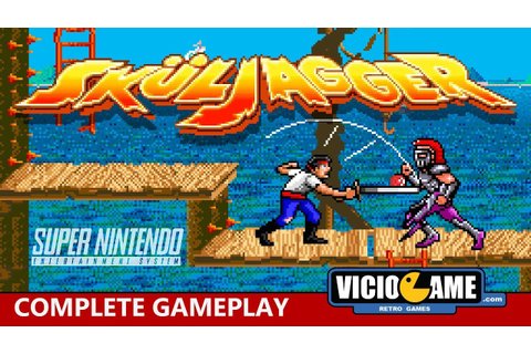 Skuljagger (Super Nintendo) Complete Gameplay - YouTube