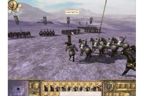 Rome Total War: Barbarian Invasion Gameplay - YouTube