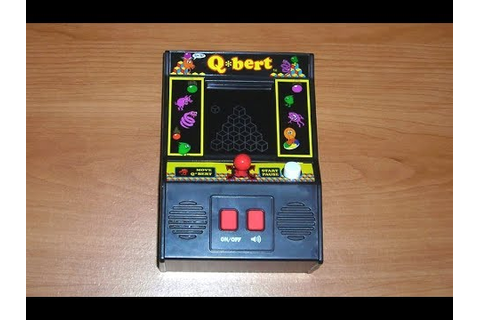 Finally! A QBert Vers 2 that works! Arcade Classics Mini ...
