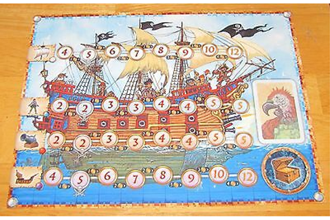 Pirate's Cove Board Game Part 1 PIRATE SHIP MAT ...