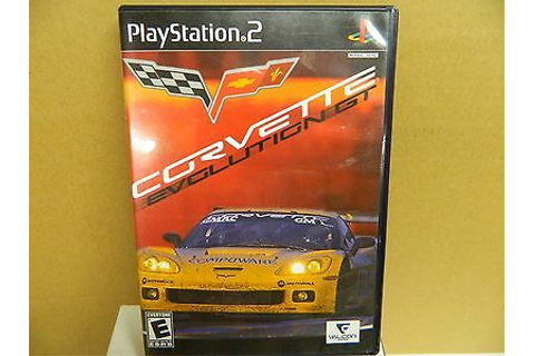 Play Station 2 CORVETTE EVOLUTION GT Video Game Rated E ...
