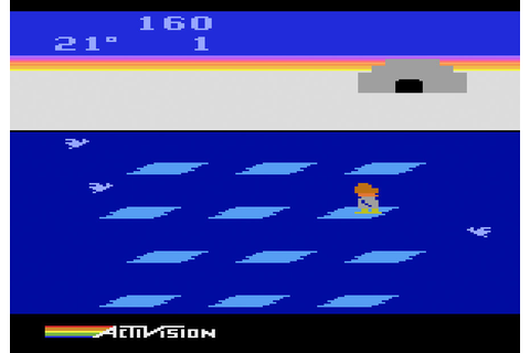 Game review: Activision's Frostbite for #Atari 2600