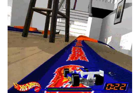 Hot Wheels Stunt Track Driver - The Living Room - YouTube