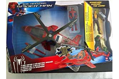 Amazon.com: The Amazing Spider-man Web Copter with Spider ...