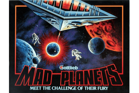 Mad Planets (1983) by Gottlieb Arcade game