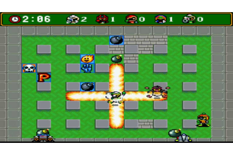 Bomberman 4 Snes Battle Mode Gameplay - YouTube