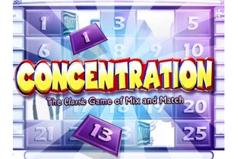 Concentration Quick Play | Play Online - Yahoo Maktoob Games