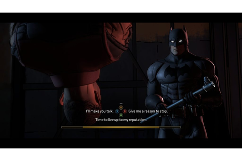 Batman: The Telltale Series Review – A Dark, Violent Love ...