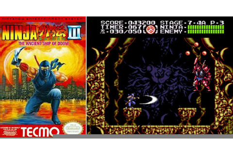 Play Ninja Gaiden 3: The Ancient Ship of Doom on NES