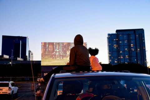 Fasten Your Seatbelts For Soldier Field's Drive-In Theater ...