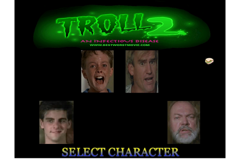Experiencing the horror- Troll 2 | RedgoateeRob's Horror Pages