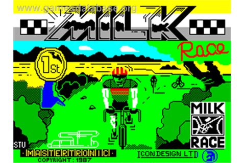 Milk Race - Sinclair ZX Spectrum - Games Database