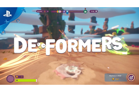 Deformers - Launch Trailer | PS4 - YouTube