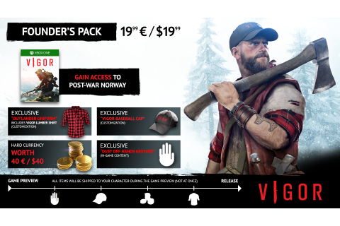 founders pack : vigorgame