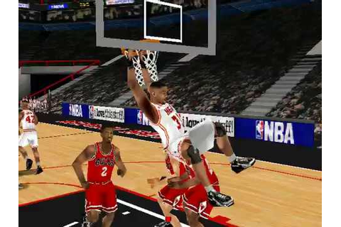 NBA LIVE 99 GAMEPLAY FULL GAME (chicago bulls va miami ...