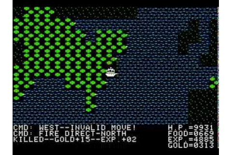 Apple II Game - Ultima II: Revenge of the Enchantress ...