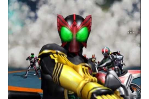 Kamen Rider OOO Ganbaride Battle Game Commercial - YouTube