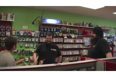 RU Game? Video Game Store Reality Show Episode 2! NWC 1990 ...