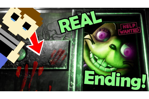 FNAF VR: GOOD Ending & ALL TAPES... the SECRET victims ...