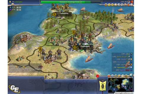 Civilization IV: Warlords Review - GamingExcellence