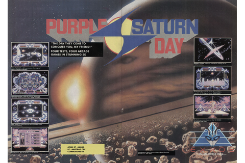 Atari ST Purple Saturn Day : scans, dump, download ...