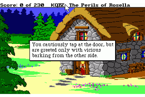 King's Quest IV: The Perils of Rosella (1988) for MS-DOS