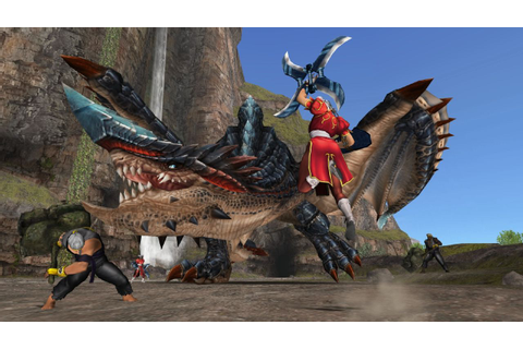 Hunt some monsters on PS4 with Monster Hunter Frontier Z
